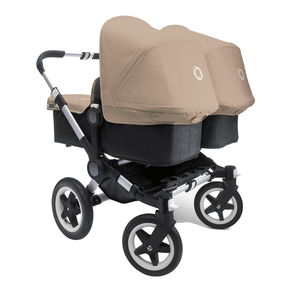 Room for two with the Bugaboo Donkey pram!
